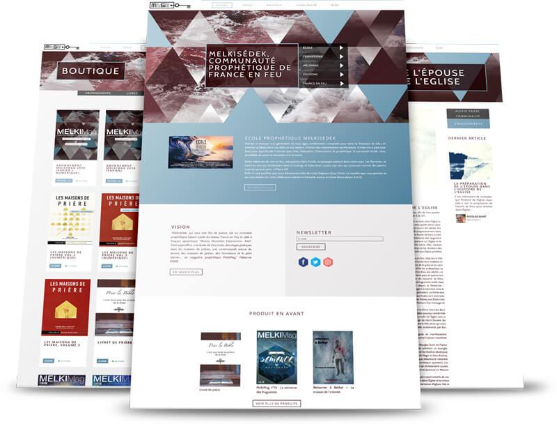 Site de vente en ligne Melkisedek